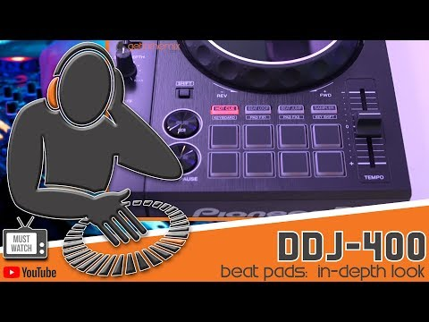 Pioneer DDJ-400 Beat Pads Tutorial - MUST WATCH!!