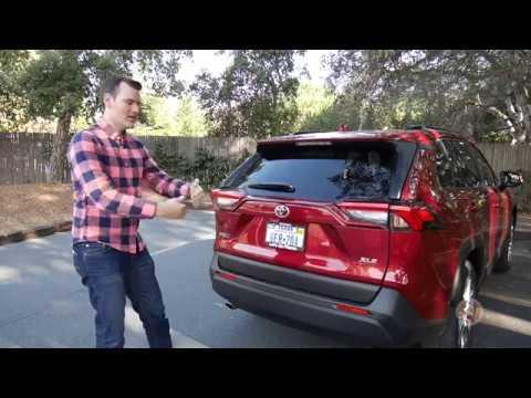 Toyota Rav4 Cargo Space Dimensions >> 2019 Toyota Rav4 Cargo Area Review Autotrader Youtube