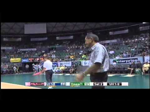 Rainbow Wahine Volleyball 2014 - Hawaii Vs UCSB