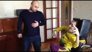 Все чемпионы Мира со своими Чемпионскими поясами у Гайирбега Микаилова инвалидам детства