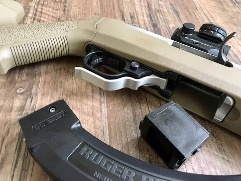 Ruger 10/22 Extended Magazine Release Review