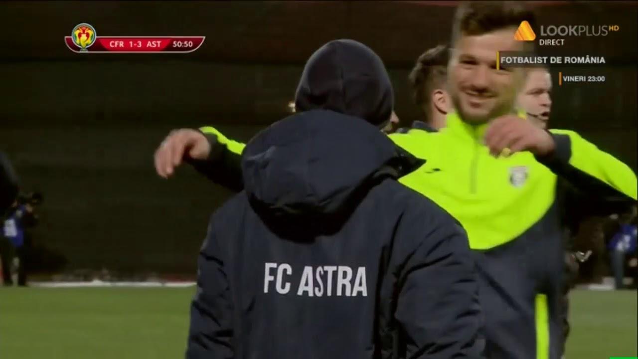 CFR Cluj - Astra 1-3, gol Butean (51) Cupa Romaniei Semifinale