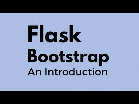 Intro To Flask-Bootstrap