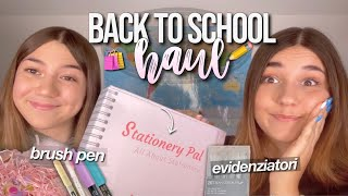 BACK TO SCHOOL SUPPLIES HAUL💗✏️// nuove brush pen, evidenziatori, penne by stationery pal
