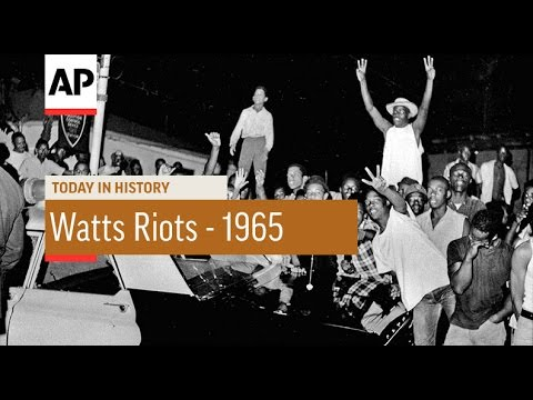 Watts Riots - 1965  | Today in History | 11 Aug 16