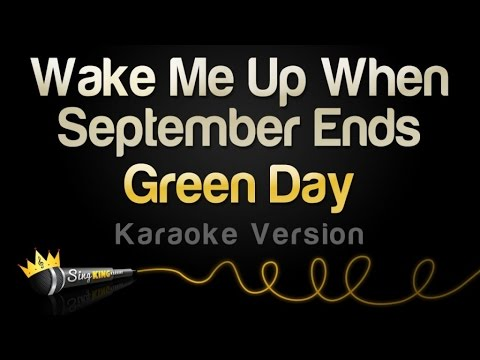 Green Day - Wake Me Up When September Ends (Karaoke Version)