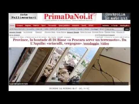 Abruzzo, 2012 Un Anno Di Notizie Con PrimaDaNoi.it