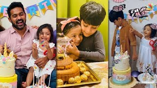 ഹയയുടെ പിറന്നാൾ ആഘോഷമാക്കി ആസിഫും കുടുംബവും | Asif Ali Daughter | Birthday Celebration Video