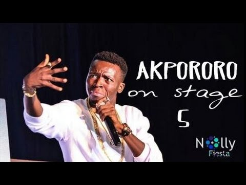 Video (stand-up): Akpororo Tells Story of How Warri Boys Ambushed Angel Gabriel