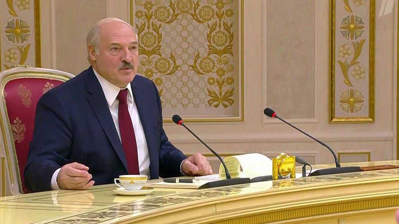Александр Лукашенко о ситуации в Белоруссии оппозиции своих планах и связях с Россией
