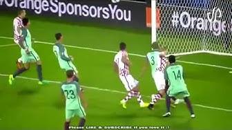 Euro 2016 Portugal 1 vs 0 Croatia Semi finals■ HD