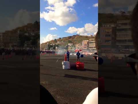 Drift race at champ de mars