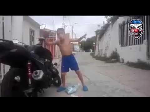 VERY FUNNY Kid Dancing With Bike Alarm