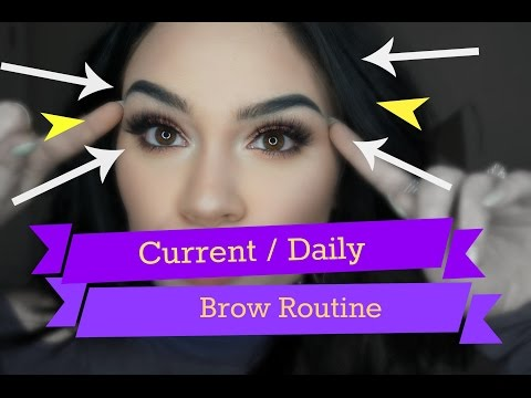 Current / Daily Brow Routine ♡ | Product Chit Chat & Demo | Samantha-Jo