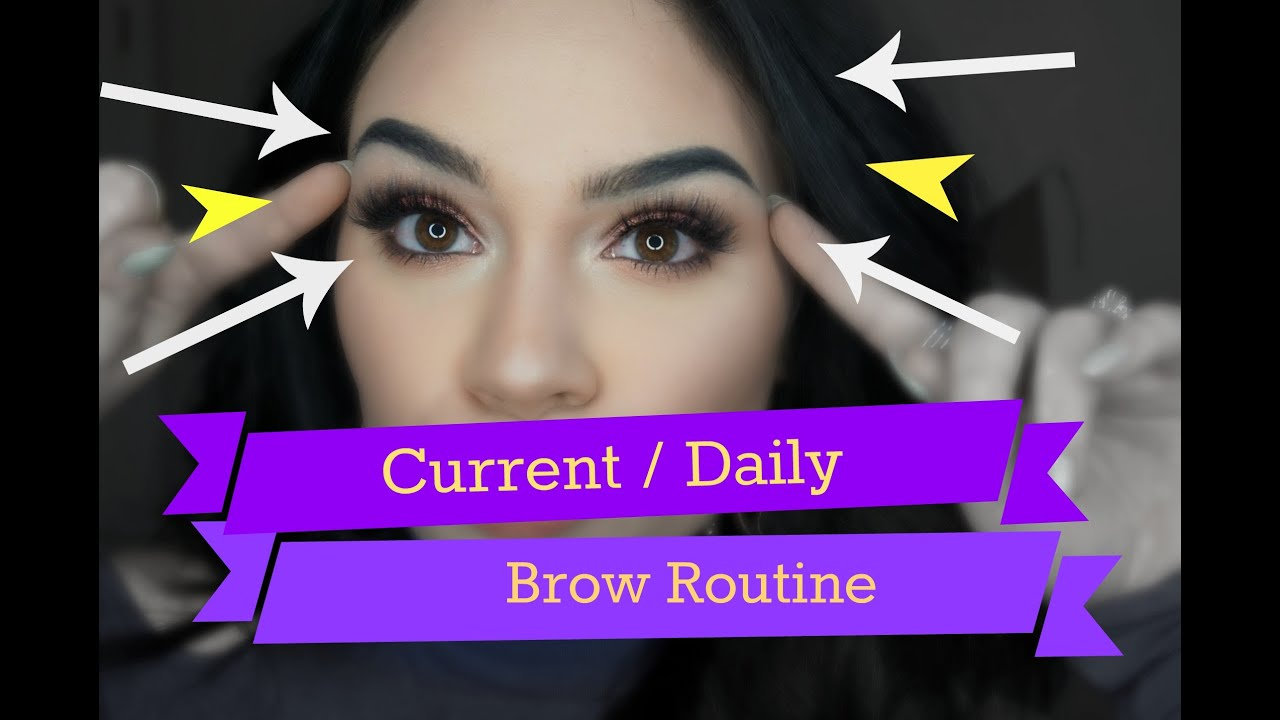 Current / Daily Brow Routine ♡ | Product Chit Chat & Demo