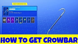 FORTNITE - How to Get CROWBAR PICKAXE EASILY in HIGH STAKES GETAWAY LTM !! FORTNITE GAMEPLAY