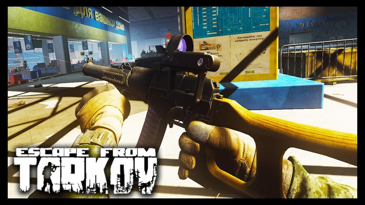 Mall Squad Takedown - Escape from Tarkov - Stack Vid