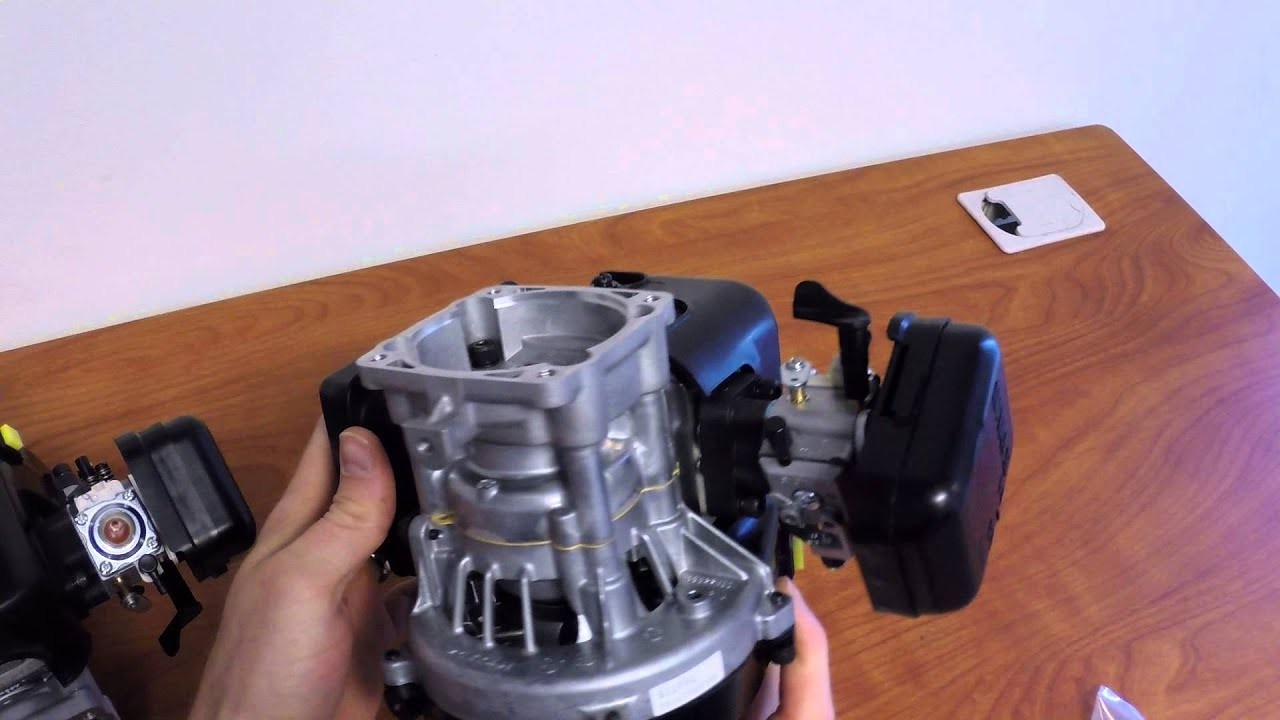 Zenoah G320RC 31 8cc 4-Bolt Engine - Complete with Clutch