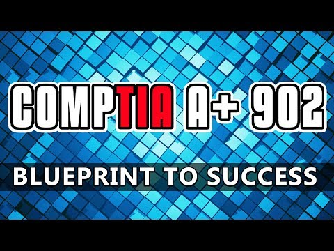 How to pass the Comptia a+ 902 exam | Blueprint To Success✔️