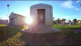 Rabbi Edgar F. Magnin virtual reality - GraveTour.com - Take a famous grave tour!