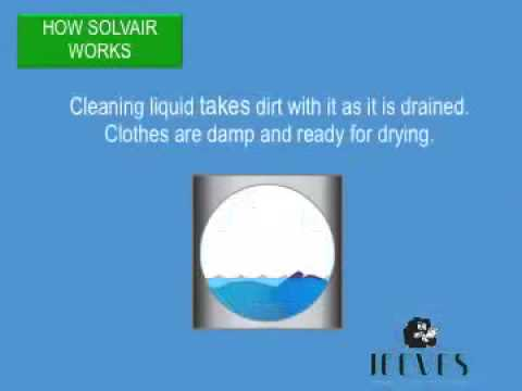 How CO2 dry cleaning with Solvair works