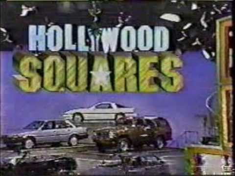 Hollywood Squares 1986-1988 Open