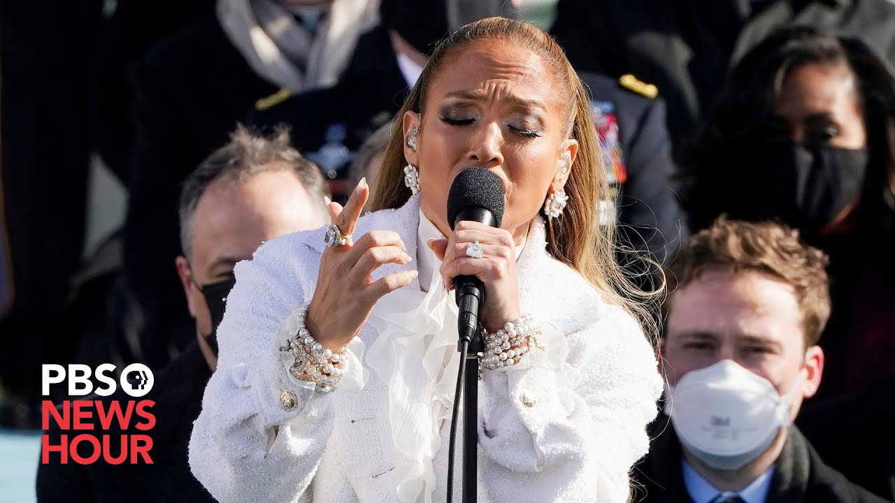 Download WATCH: Jennifer Lopez sings 'This Land Is Your Land' for Biden inauguration