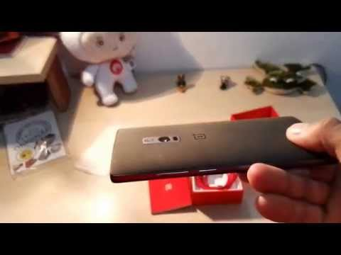 One Plus Two Unboxing