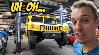 homepage tile video photo for Everything wrong with my cheap, broken Hummer H1 (Wizard was thrilled)