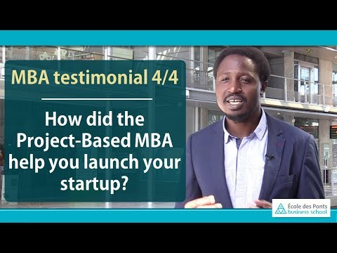 How did the  Project-Based MBA help you launch your startup?