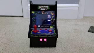 Galaga Mini Arcade Unboxing