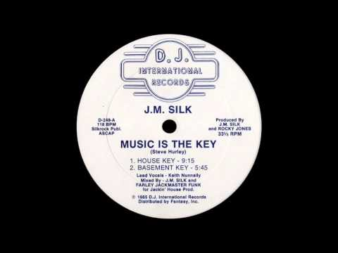 J M Silk ‎– Music Is The Key (House Key) [1985]