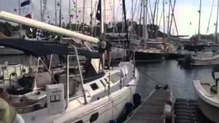 Bacchanal Hunter 380 Class C last boat to finish