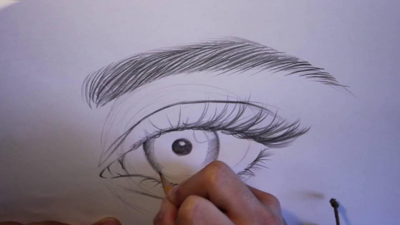 Come Disegnare Un Occhio Tutorial Youtube