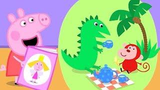 Peppa Pig Nederlands Compilatie Nieuwe Afleveringen 📚 Lezen met Peppa   Tekenfilm   Peppa de Big