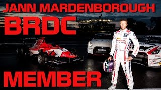 JANN MARDENBOROUGH BRDC MEMBERSHIP