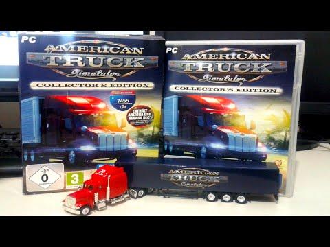 American Truck Simulator Collector's Edition Kutu Açılışı