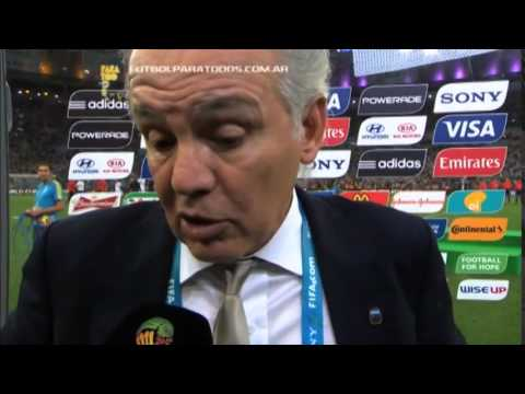Sabella: Orgulloso del equipo Alemania 1 Argentina 0  Mundial Brasil 2014
