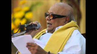 Kalaignar Karunanidhi speech on his friendship with Kannadasan