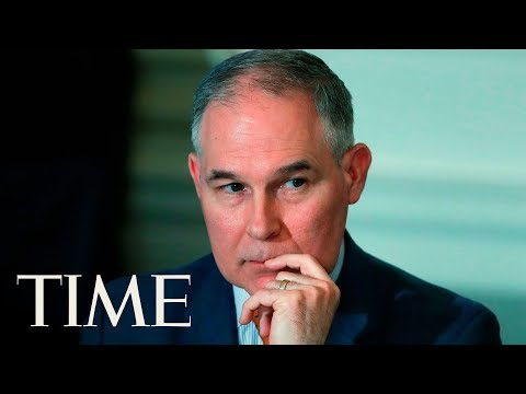 Scott Pruitt, EPA Administrator, Appears Before A Congressional Committee | TIME