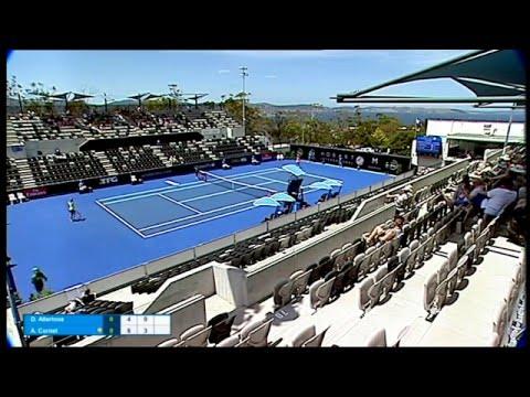 Denisa Allertova v Alize Cornet full match (1R) | Hobart International 2016