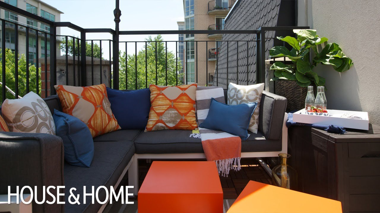Exterior design 6 tips for a weekend balcony makeover for Balcony makeover