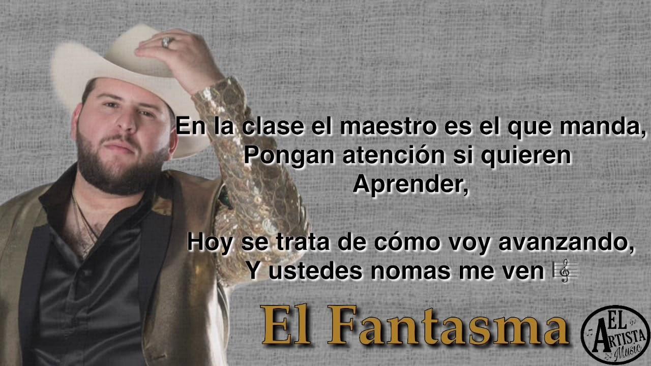93a66a429 El Circo (letra) El Fantasma VIDEO LYRIC