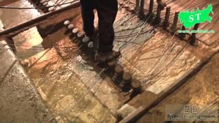 Производство плит перекрытия на оборудовании НПЦ
