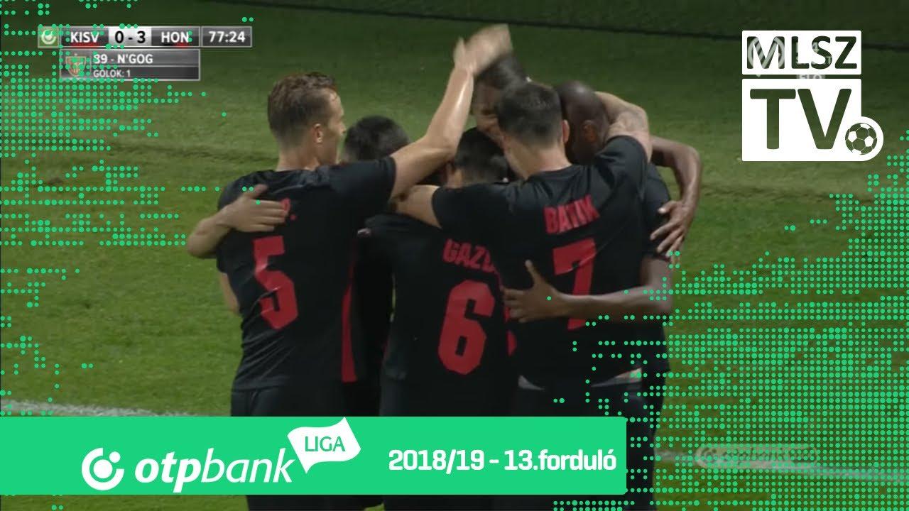 Kisvárda Master Good - Budapest Honvéd | 0-3 (0-1) | OTP Bank Liga | 13. forduló | 2018/2019