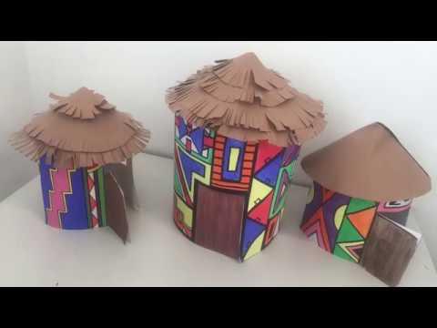 Making A Ndebele House