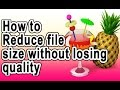 How To Reduce A Video File Size Without Losing Quality[1gb To 100mb] New!!! 2016 video