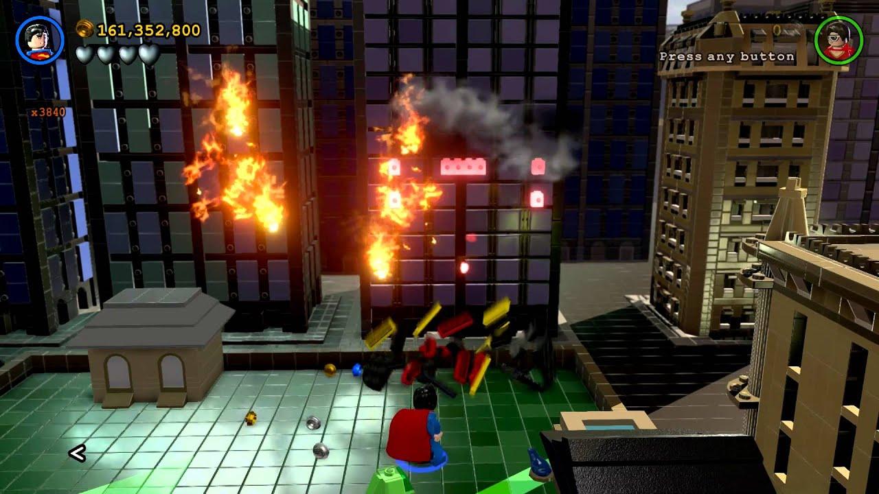 LEGO Batman 3: Beyond Gotham - Gold Brick Detector Stud ...