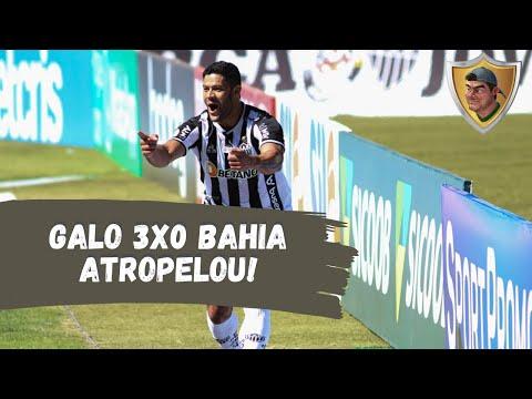 Galo 3x0 Bahia: