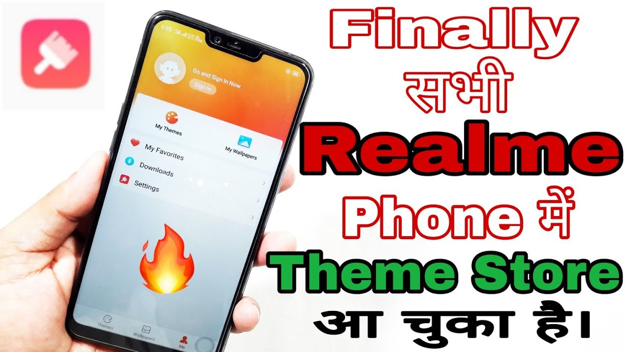 [Hindi] How to install Official Theme Store in All Realme Mobiles | Theme  Store in Realme 2 | R2 Pro